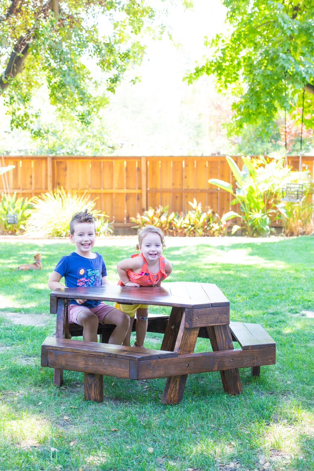 Modern Kids' Picnic Table