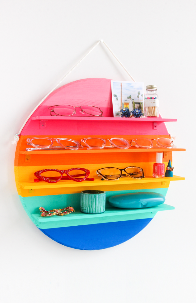 Rainbow Circle Shelf