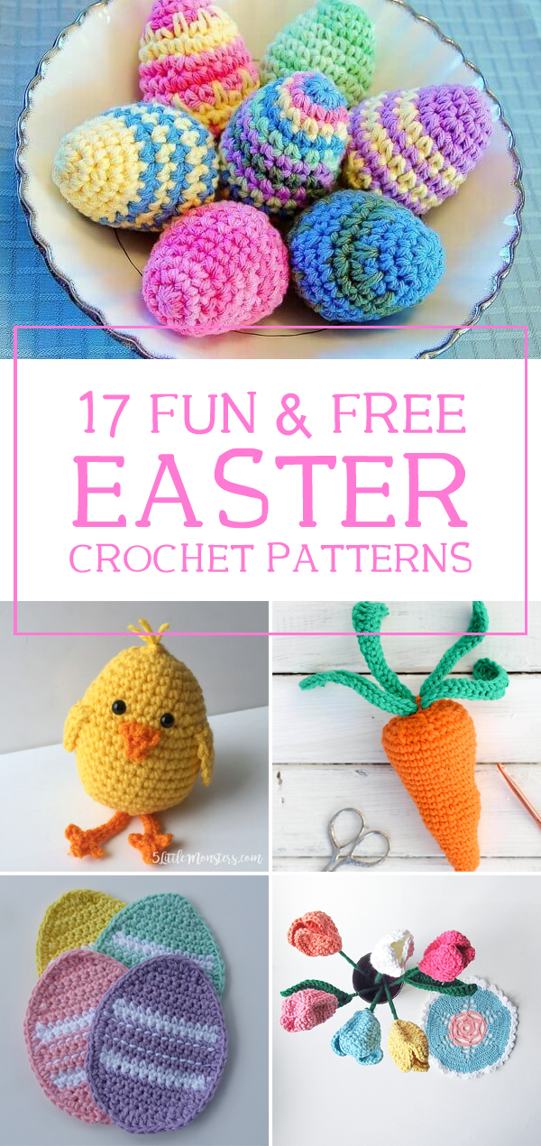 17 Fun and Free Easter Crochet Patterns