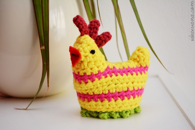 Easter Crochet Chick Egg Cosy