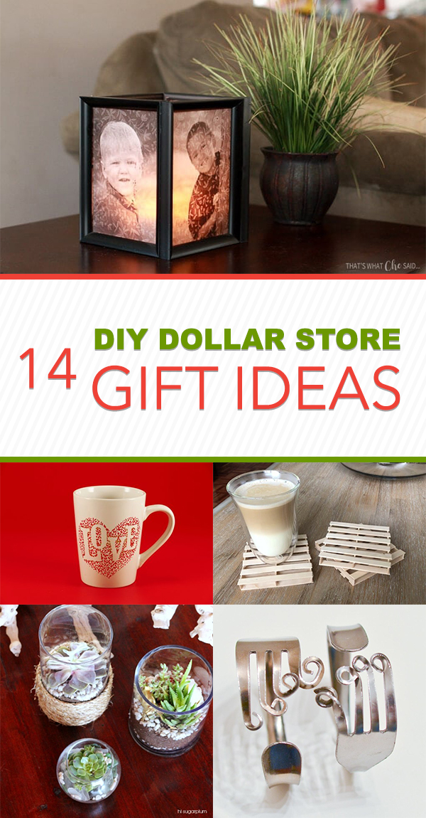 14 Fun And Creative DIY Dollar Store Gift Ideas