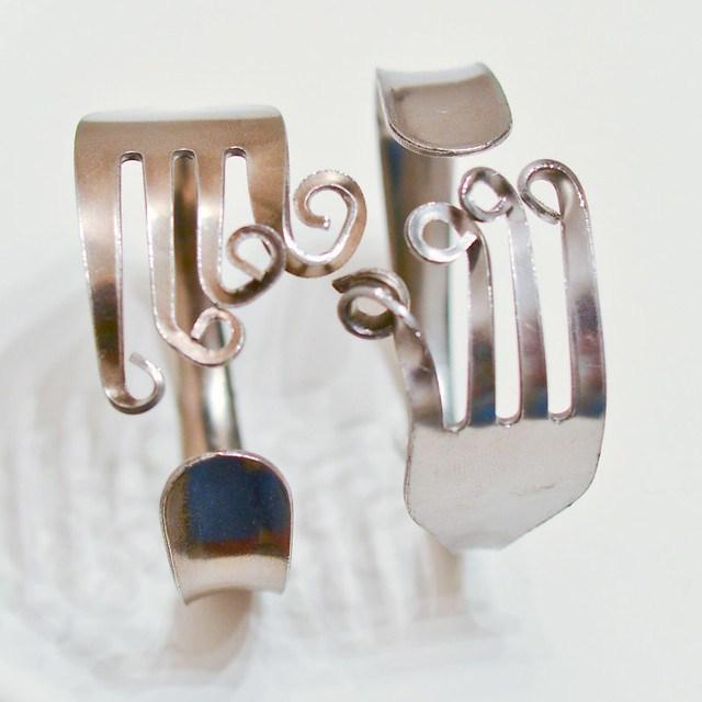 Curly Fork Bracelet