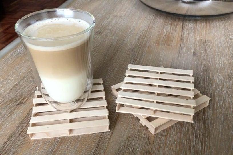 Mini Pallet Coasters