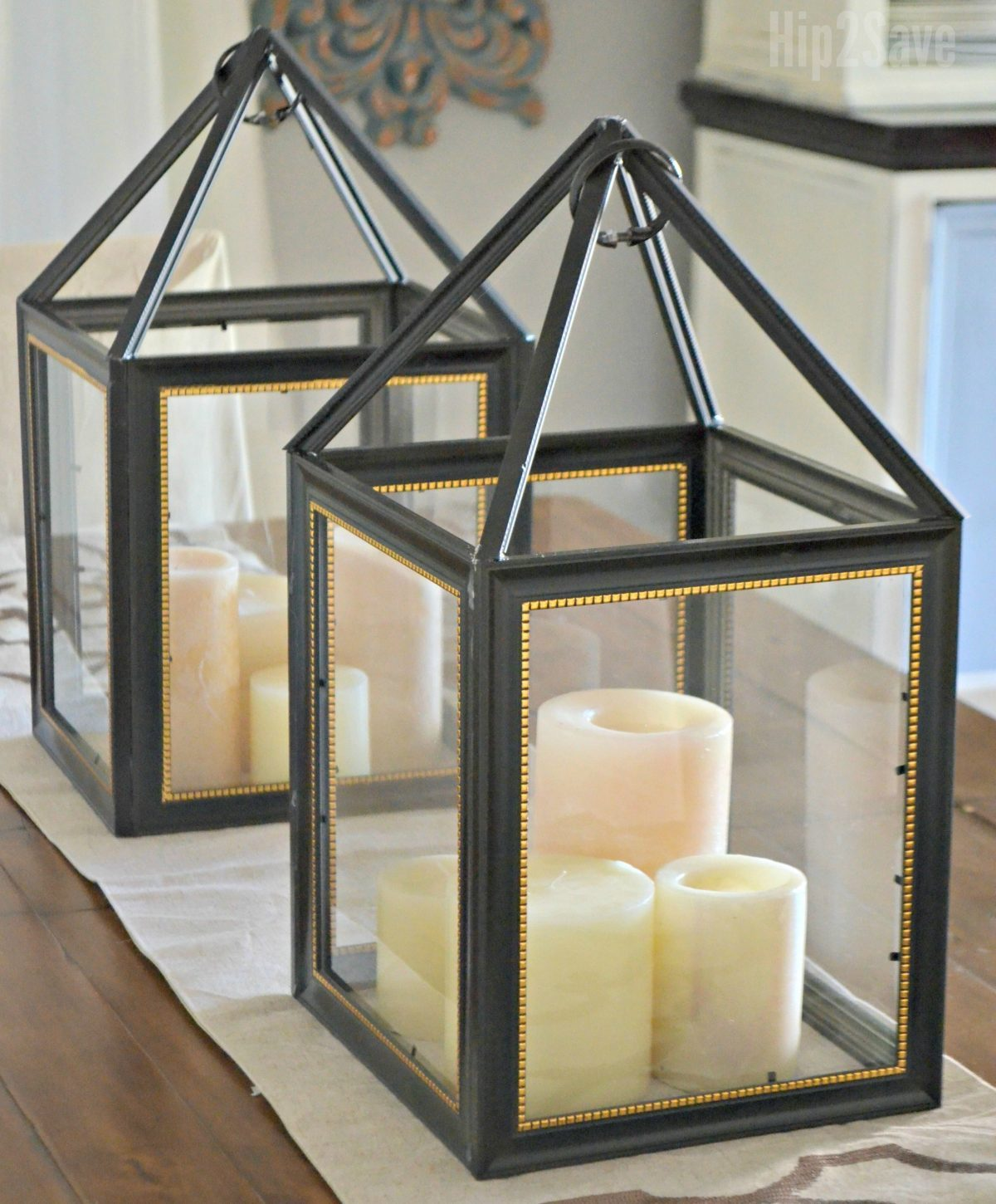 Picture Frame Lanterns