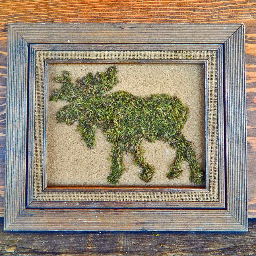 Moss Animal Silhouette