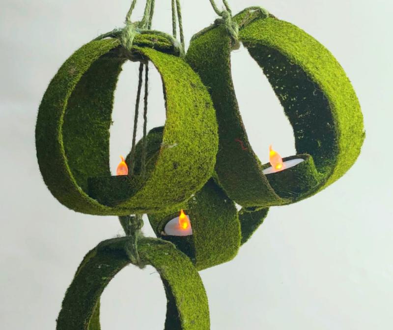Moss Orb Lanterns