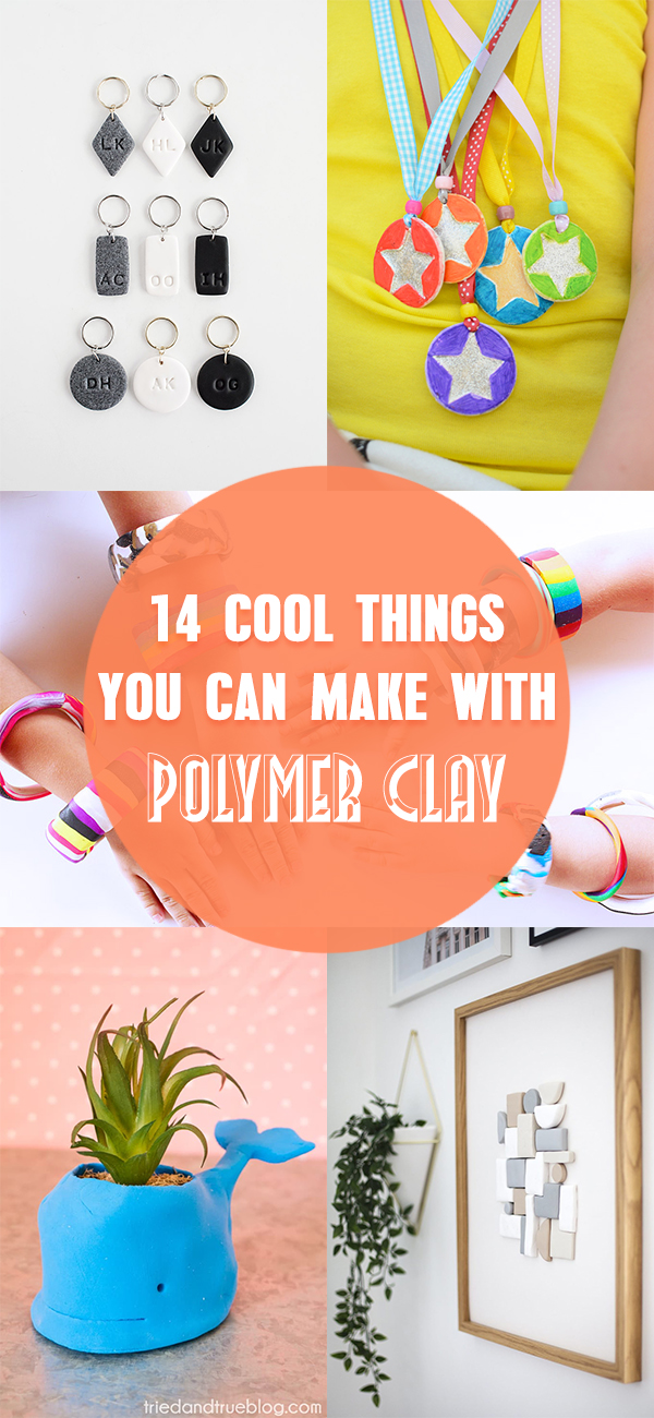 14 Cool Things You Can Make with Polymer Clay