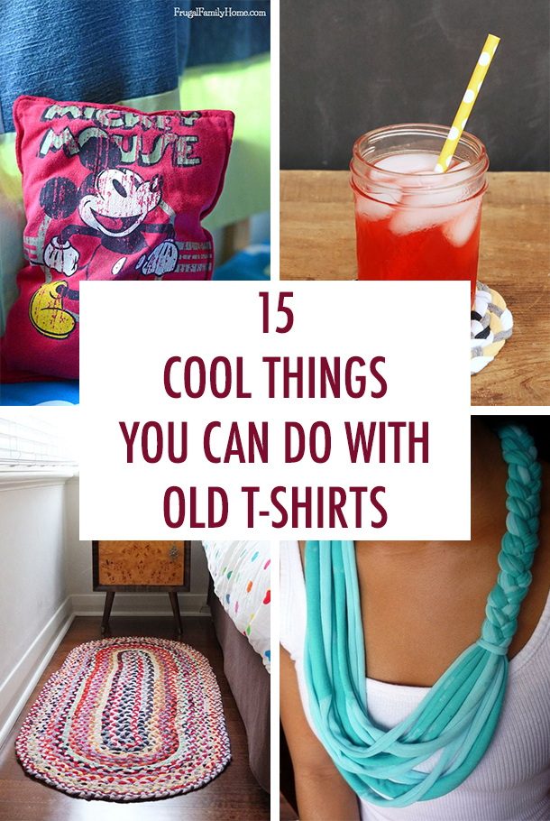 15 Cool Things You Can Do With Old T-Shirts
