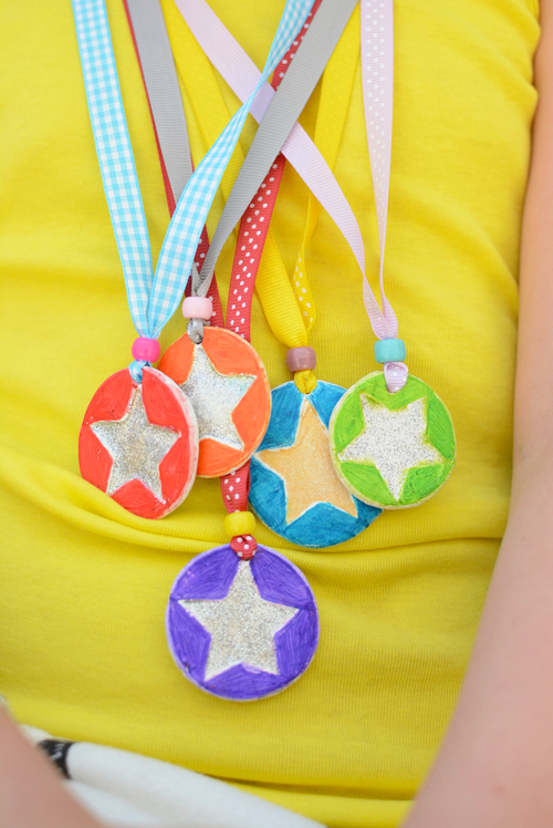 Clay Medals