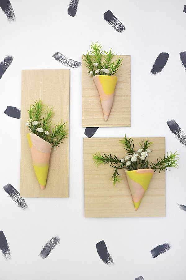 Clay Vase Wall Hanging