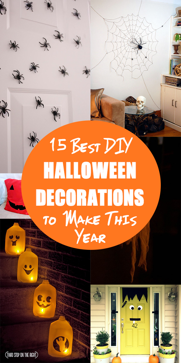 15 Best DIY Halloween Decorations to Make This Year