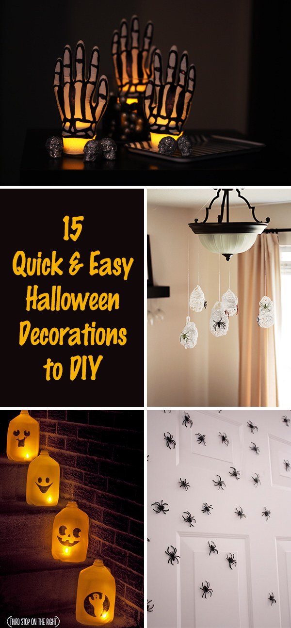15 Quick and Easy Halloween Decorations to DIY
