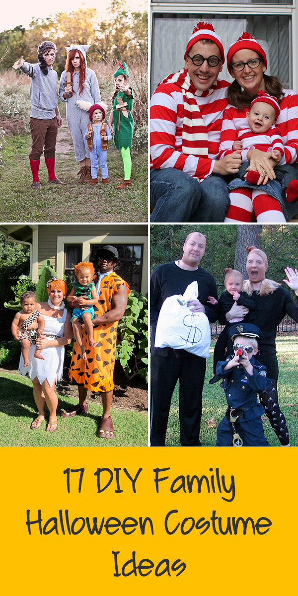 17 Fun DIY Family Halloween Costume Ideas