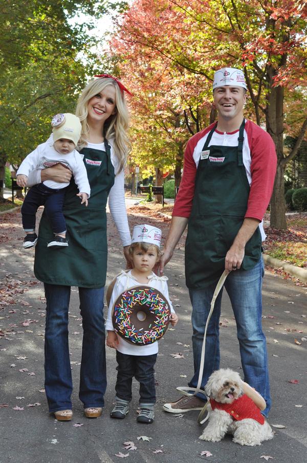 Krispy Kreme Donut Family