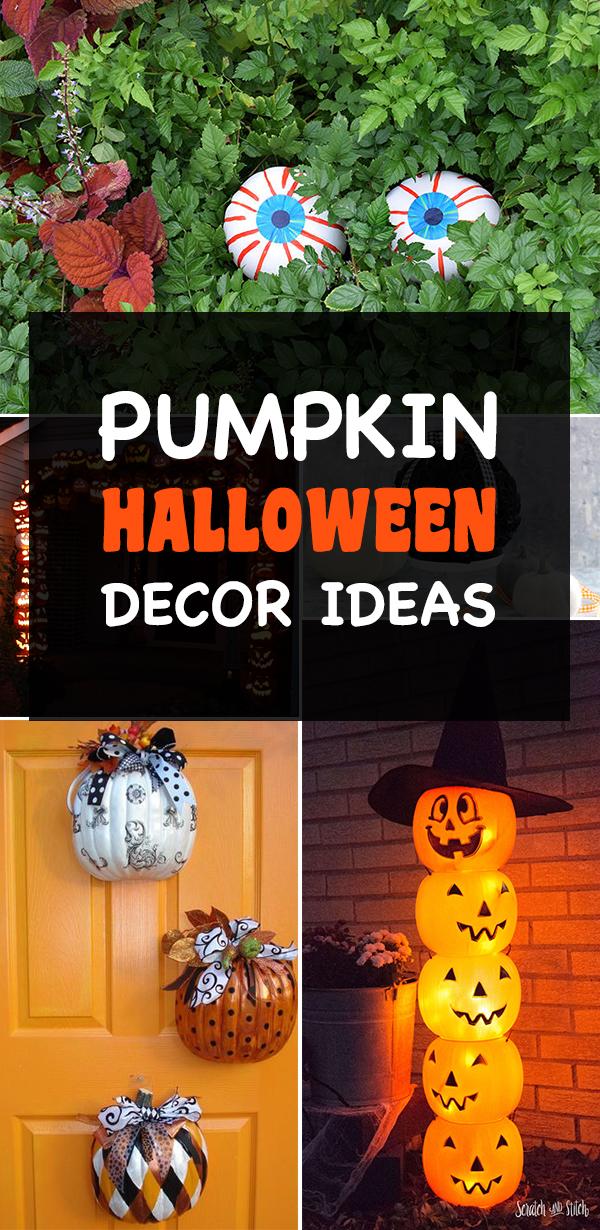 Pumpkin Halloween Decor Ideas