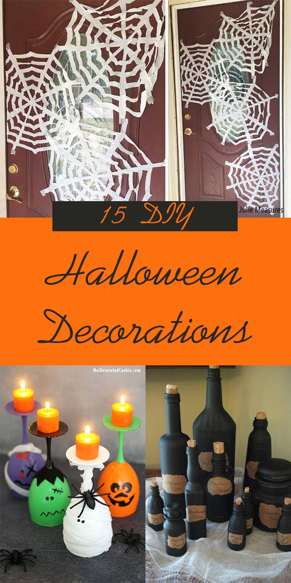 15 Cheap & Easy DIY Halloween Decorations