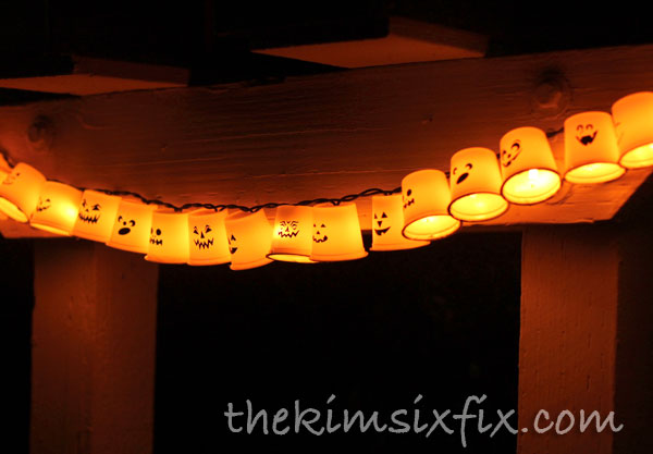 K-Cup Halloween Lights
