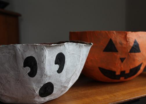 Paper Bag Bowls