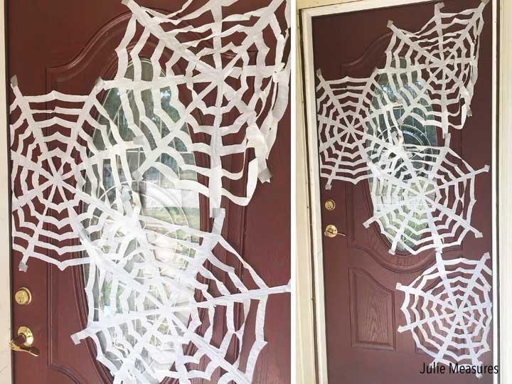 Trash Bag Spiderwebs