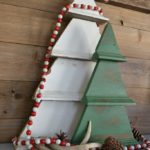 Rustic Wall Christmas Tree