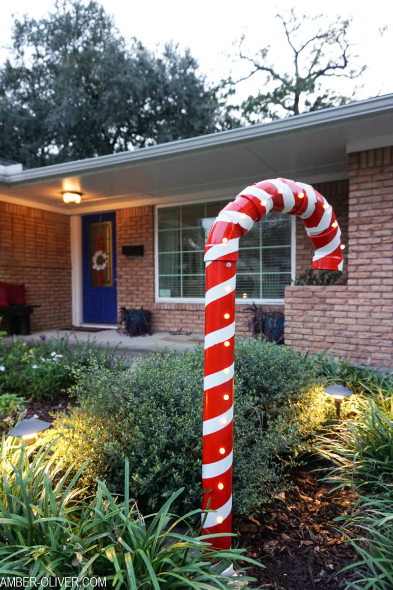 PVC Candy Canes