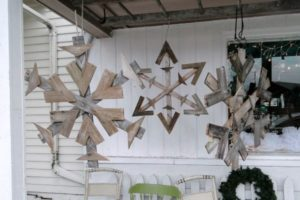 Pallet Snowflakes