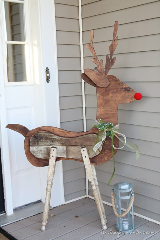 Reclaimed Wood Reindeer