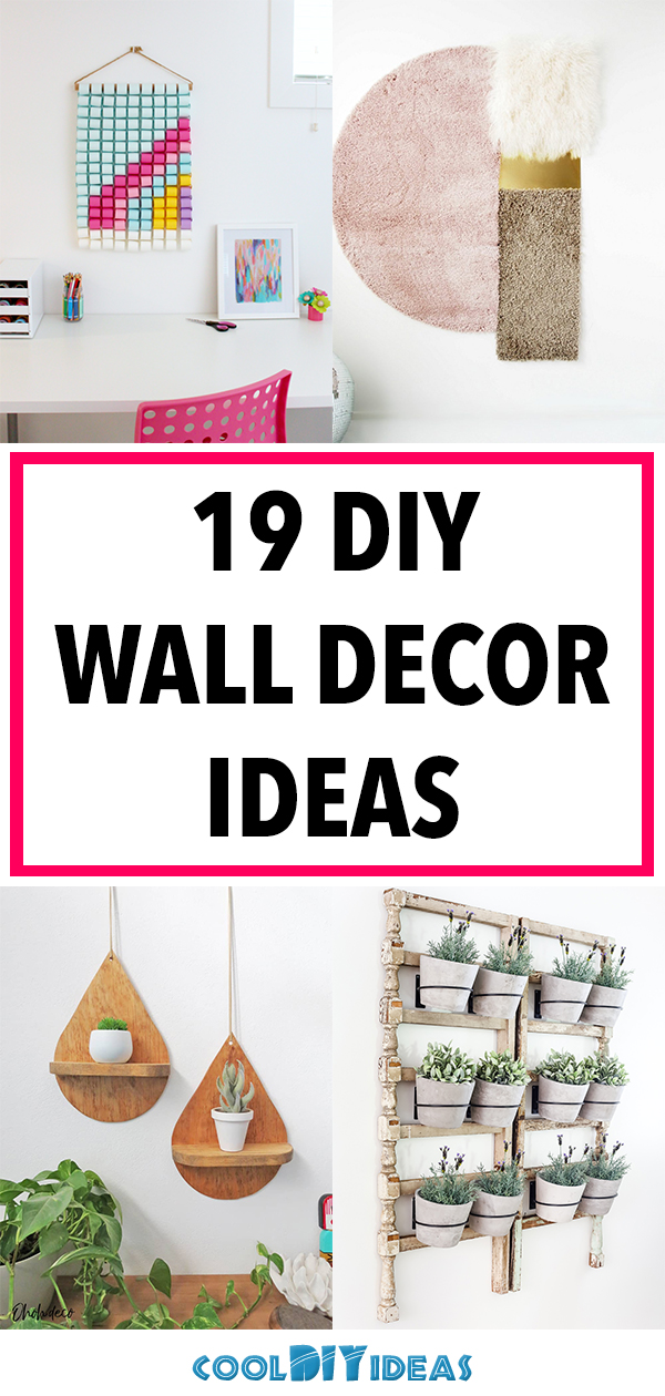 19 DIY Wall Decor Ideas to Refresh Your Space