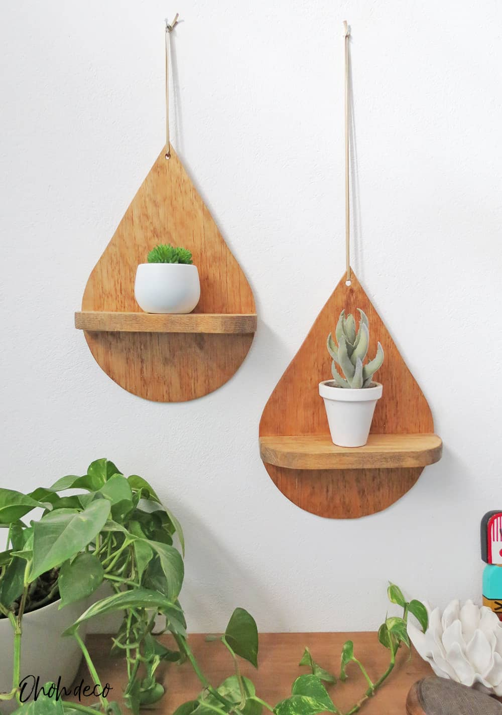 Drop Shaped Shelf
