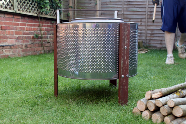 Washing Machine Fire Pit