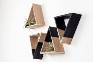 Mini Triangle Shelves