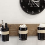 Tin Can Wall Organizer