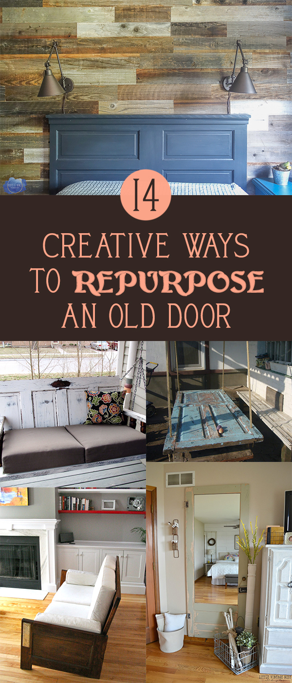 14 Creative Ways to Repurpose an Old Door
