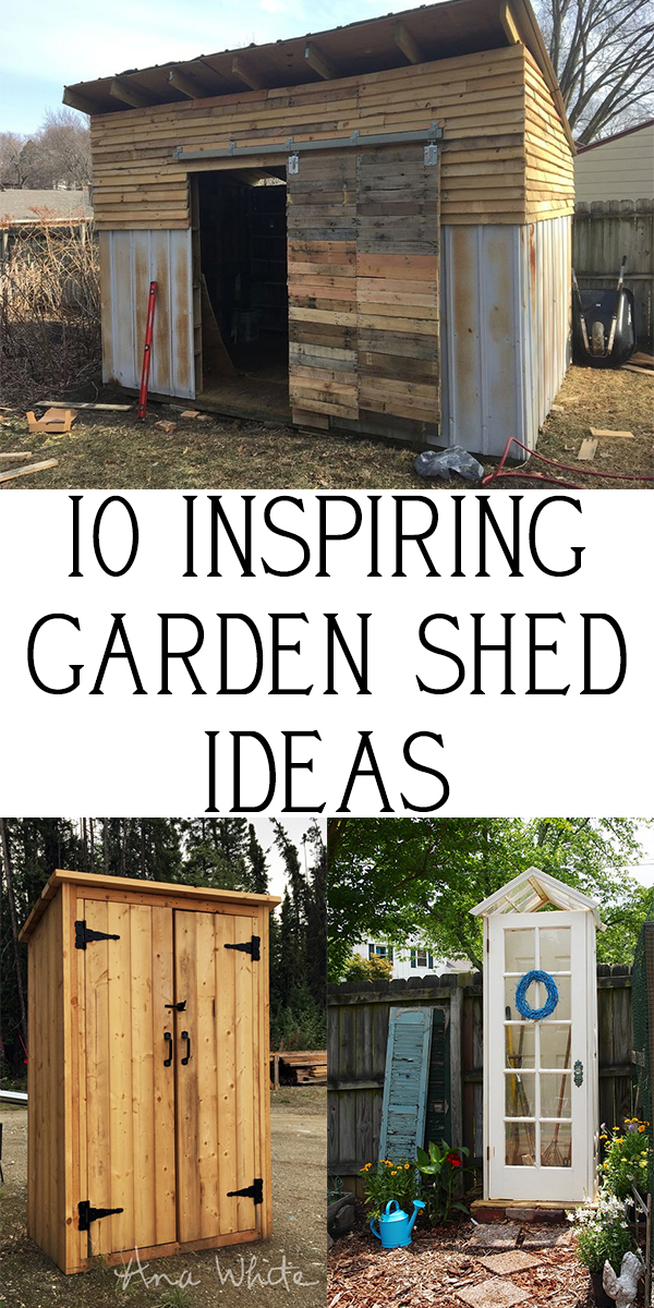 10 Cute And Inspiring Garden Shed Ideas