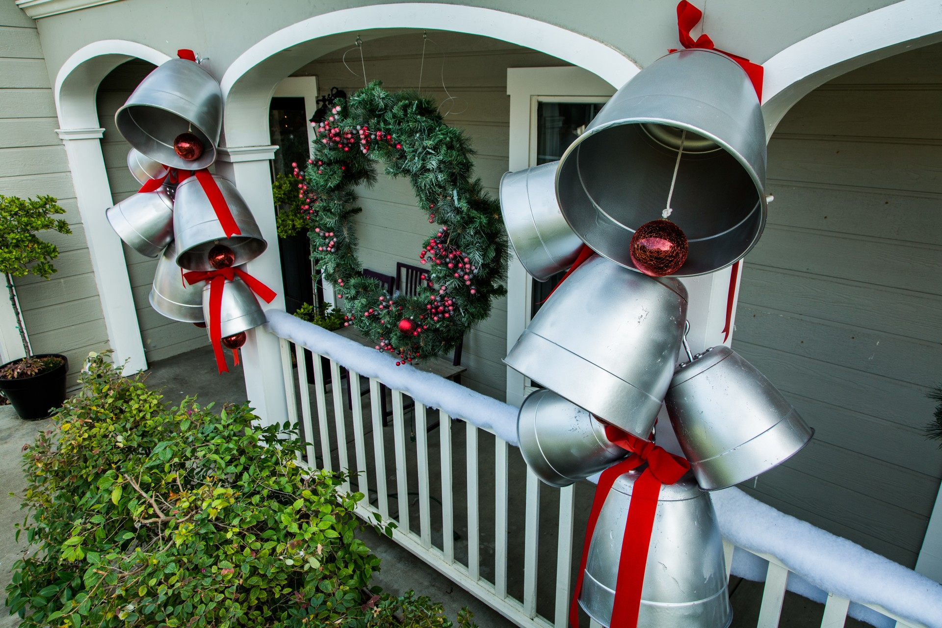 Giant Holiday Bells
